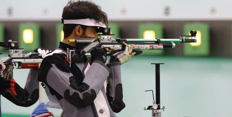 نکونام مدال طلای تفنگ سه وضعیت را کسب کرد