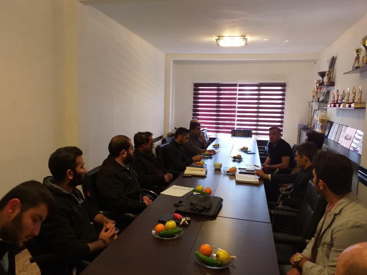 برگزاری جلسه شورای روابط عمومی هیأت حوزه ها و شهرستانهای استان تهران