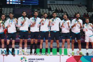 قهرمانی تیم ملی والیبال در مسابقات آسیایی اندونزی