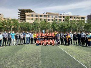 گزارش تصویری برگزاری مسابقه فوتبال دوستانه بین دو تیم از مجموعه توانا