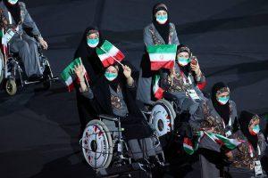 فیلم/رژه کاروان پارالمپیک ایران در المپیک توکیو