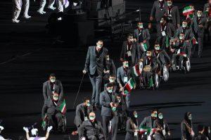 آئین افتتاحیه پارالپیک ۲۰۲۰ توکیو با حضور کاروان ایران از لنز دوربین