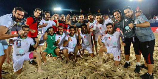 اردوی مشترک تیم ملی فوتبال ساحلی کشورمان با برزیل و روسیه