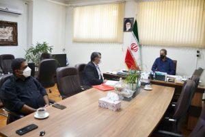 دیدار رواسای هیأت  بولینگ ، بیلیارد و بولس استان تهران و اداره ورزش شمال غرب
