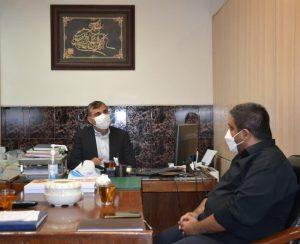 نشست هم اندیشی رئیس هیأت و مدیر روابط عمومی هیأت بولینگ ، بیلیارد و بولس استان تهران